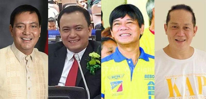 CEBU. (From left) Cebu City Vice Mayor Mike Rama, Councilor Raymond Garcia, Representative Rodrigo Abellanosa and Councilor Franklyn Ong. (SunStar File)