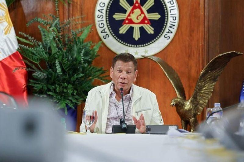 President Rodrigo Duterte. (File photo)