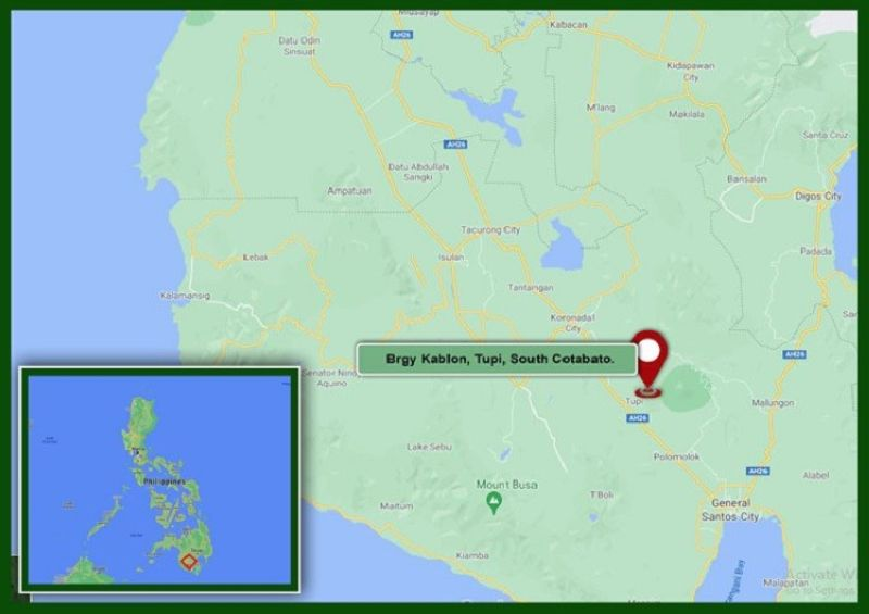 Photo of Tupi map