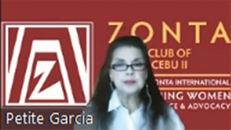 PETITE GARCIA. Zonta Club of Cebu 2 president. (Contributed photo)