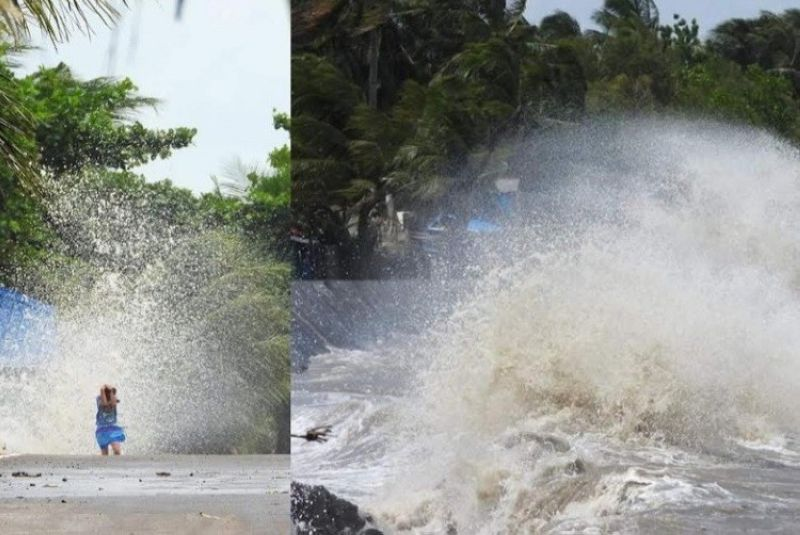 VALLADOLID. Over 20-foot-high waves considered to be a