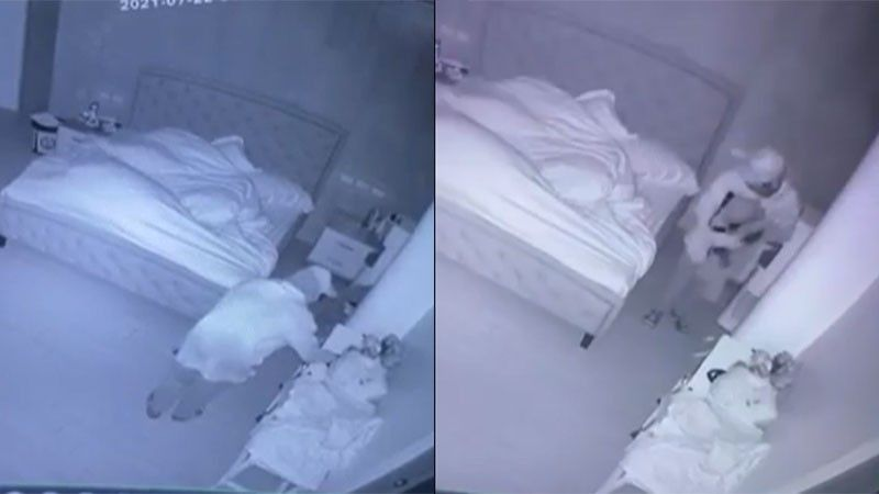 Screenshot from CCTV