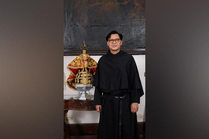 NEW RECTOR. Fr. Nelson Zerda, OSA, is the new rector of the Basilica Minore del Sto. Niño. Zerda was formally installed to the post on Friday, July 23, 2021. / Contributed