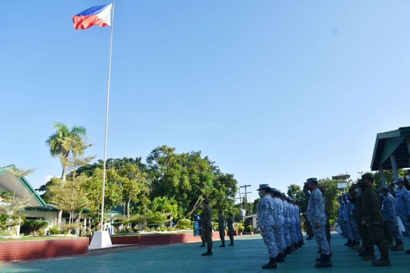 ZAMBOANGA. All units of the Armed Forces of the Philippines (AFP) join in the simultaneous culmination of the 30-day military mourning for the late and former commander-in-chief, Benigno Simeon Aquino III, who died on June 24, at the age of 61. A photo handout shows the officers, enlisted personnel, and civilian human resources of the Western Mindanao Command gathering at Camp Navarro that houses the Westmincom headquarters in this city to take part in the ceremony at 4:30 p.m. Saturday, July 24. (SunStar Zamboanga)