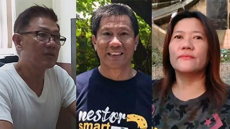CEBU. Cebu City Councilors Eugenio Gabuya Jr. and Nestor Archival, and Grace Luardo of the Department of Public Services. (File photos)