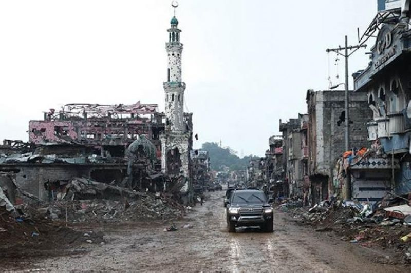 MARAWI, The city was devastated by the armed conflict between a terrorist group and government troops. (File)