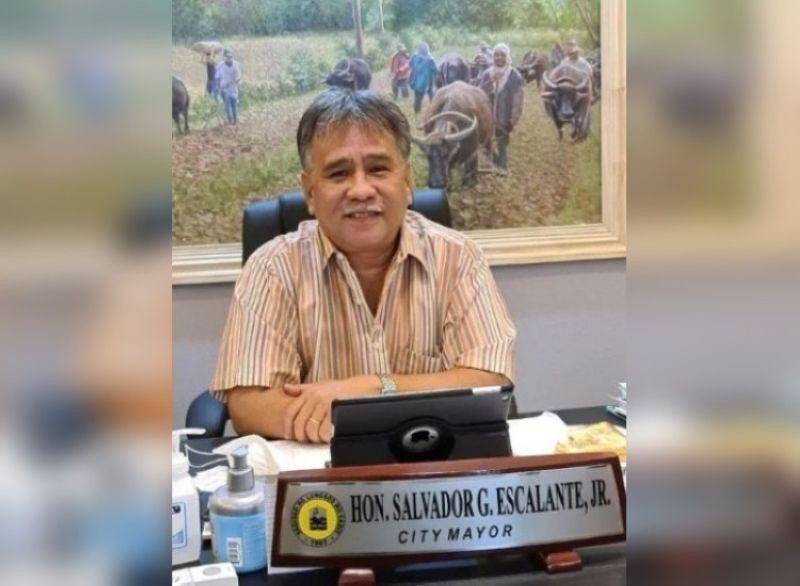 NEGROS. Cadiz City Mayor Salvador Escalante Jr. (File photo)