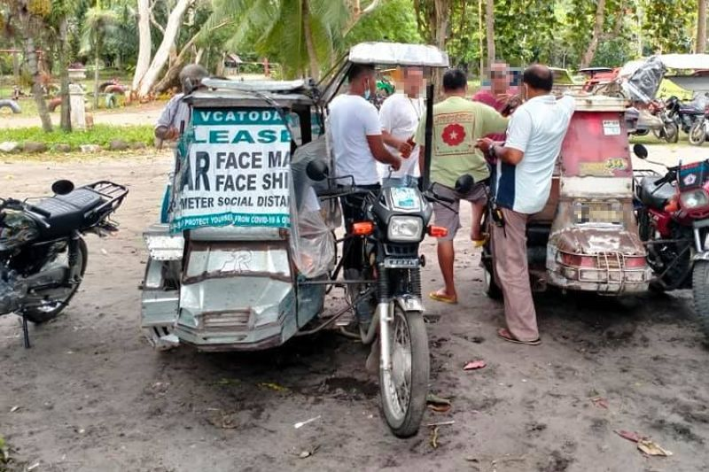 (Photo from: Victorias City Alliance of Tricycle Owners and Drivers Association Inc.)