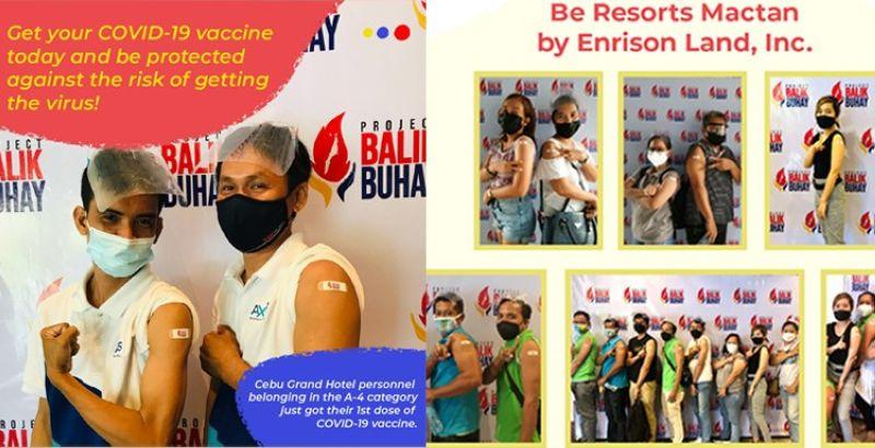 (Photos from Hotel Resort & Restaurant Association of Cebu Inc.'s Facebook)