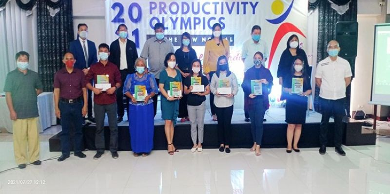 PRODUCTIVE MSMEs. The Regional Tripartite Wages and Productivity Board-Central Luzon awarded nine MSMEs during the 2021 Regional Productivity Olympics in the City of San Fernando, Pampanga. (Contributed photo)