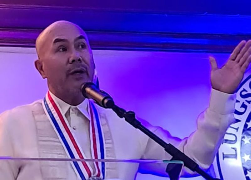 MABALACAT'S GAINS. Mabalacat City Mayor Crisostomo Garbo reported significant gains in the local economy, health and medical coverage and Covid-19 management and achieving herd immunity in his State of the City Address delivered Wednesday, July 28, 2021, at the city hall. (Chris Navarro)