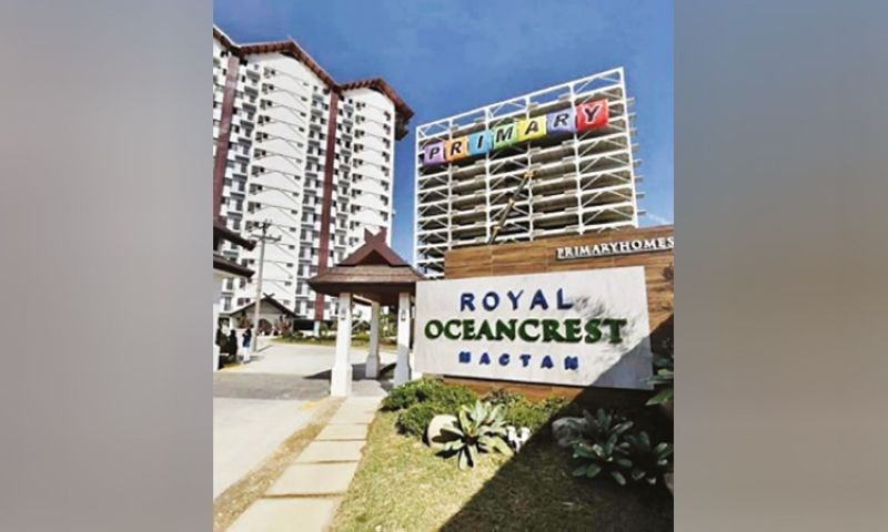 BRISK SALES. Since its launching in 2019, Royal Oceancrest Mactan's first two towers are already 60 percent sold. This is despite the impact of the Covid-19 pandemic on industries, including real estate. (Primary Homes)