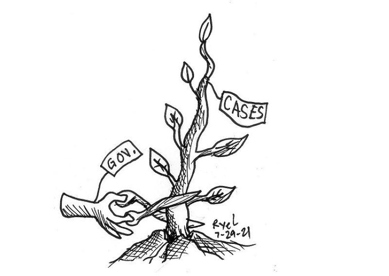 Editorial cartoon ni Ariel Itumay