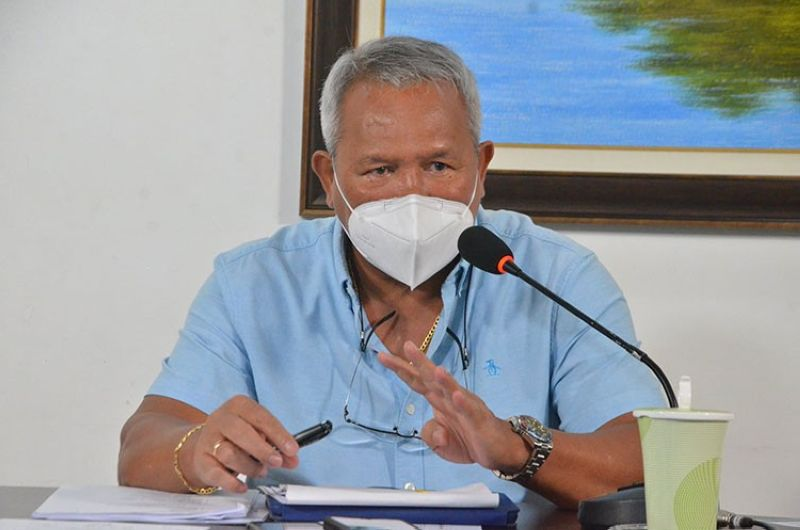 CAGAYAN DE ORO. Cagayan de Oro City Mayor Oscar Moreno confirmed on Thursday, July 29, the detection of eight new Delta variant cases in the city. (Photo from City Information Office)