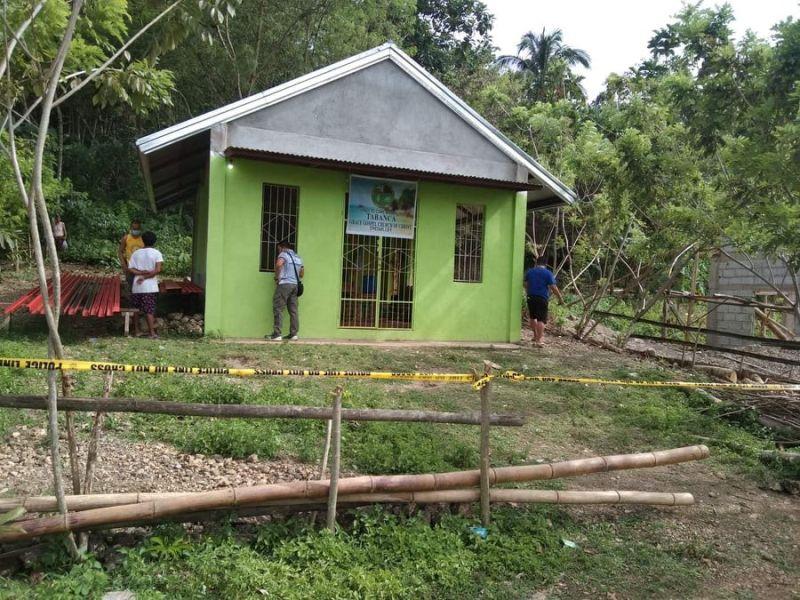 KABANKALAN SHOOTING. A pastor was shot inside the Grace Baptist Church in Barangay Tan-awan, Kabankalan City on July 28, 2021. (Nocppo photo)