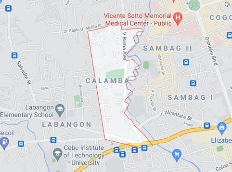 Barangay Calamba, Cebu City. (Google Maps)