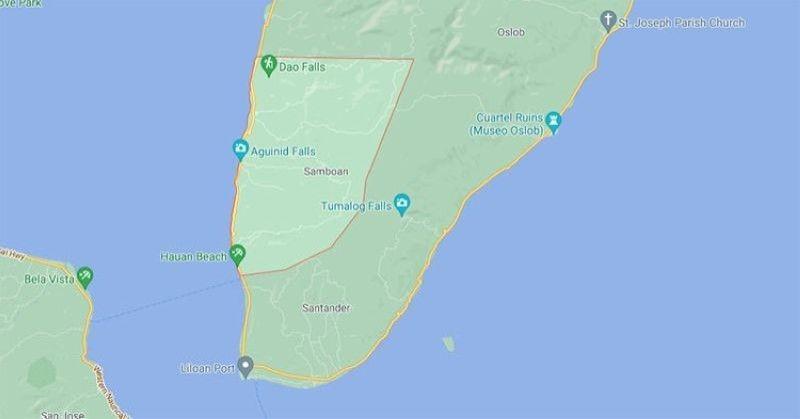 Samboan, Cebu. (Google Maps)