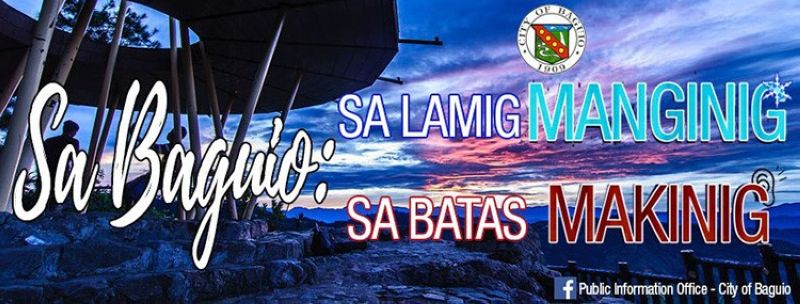 (From: Public Information Office - City of Baguio's Facebook)
