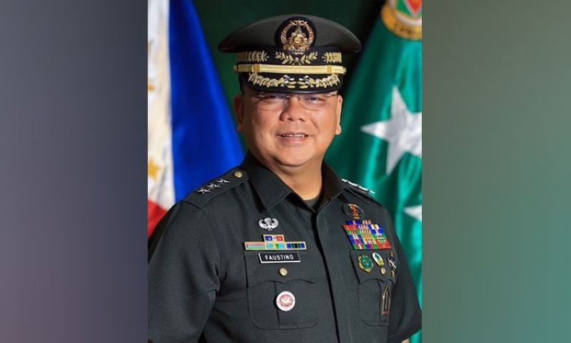 Incoming Armed Forces of the Philippines Chief of Staff Jose Faustino (From AFP)