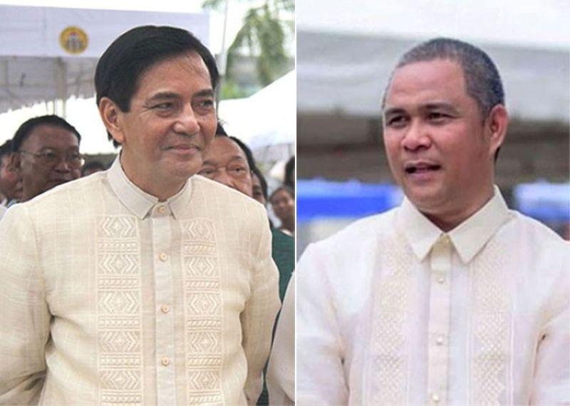 CEBU. Cebu City Vice Mayor Mike Rama and City Administrator Floro Casas Jr. (SunStar File)