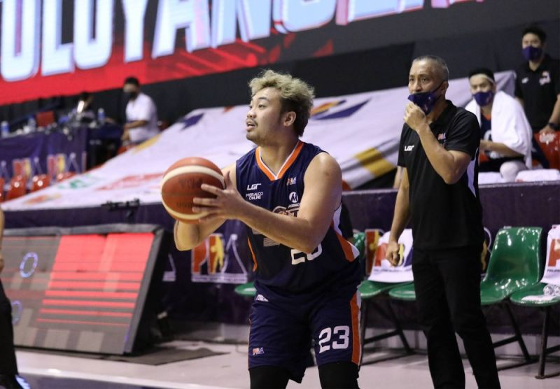 Rookie Alvin Pasaol delivered the goods for Meralco in the fourth period to help the Bolts repulse the Alaska Aces on Saturday afternoon. / PBA