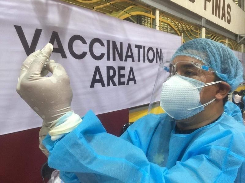 More people willing to get vaccinated in Cebu City. (File photo)