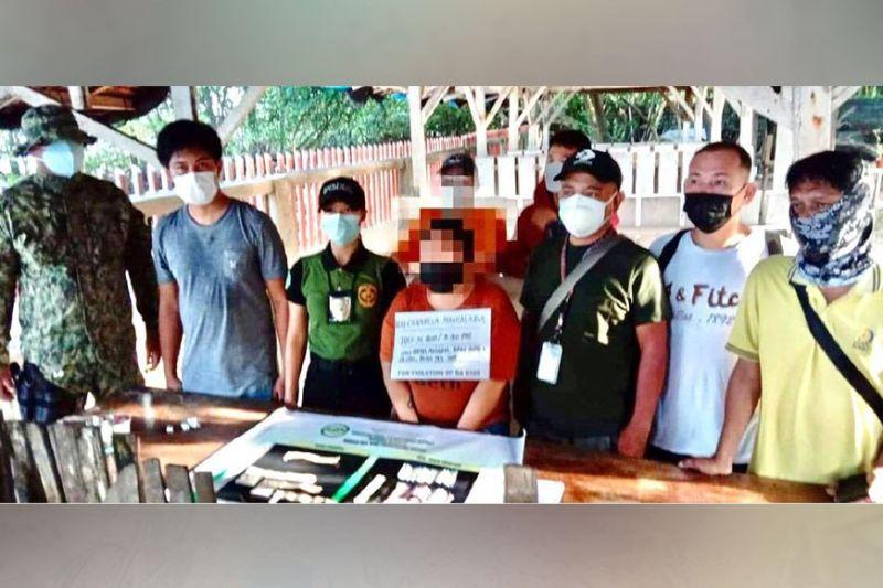 DAVAO. Atol sa inventory human sa buy-bust operation sa Sta. Cruz Municipal Police Station. (PRO-Davao)