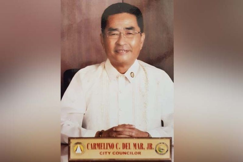 """COVID CASUALTY. Mandaue City Councilor Carmelino """"Jun"""" del Mar Jr. has succumbed to Covid-19 two weeks after he got infected with it. He was 65. (Jonas Cortes)"""