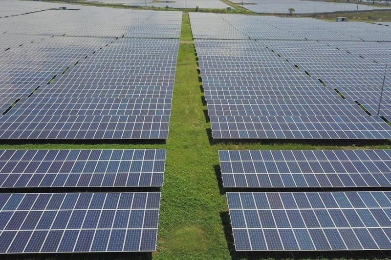 NEGROS. The 59-megawatt-peak solar facility in San Carlos City, Negros Occidental, operated by AboitizPower subsidiary San Carlos Sun Power Inc. (SacaSun), is the company's maiden venture in the solar energy space which was inaugurated in 2016. (Contributed photo)