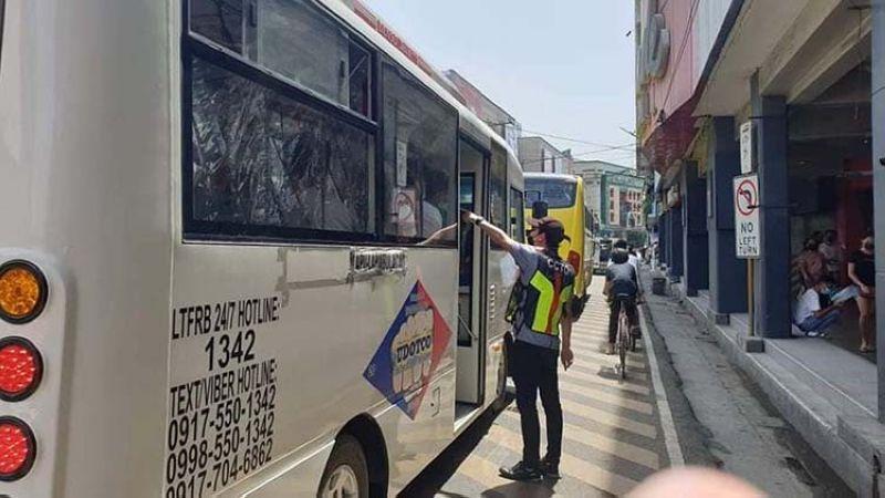 75% ra sa pasahero pwedeng pasakyon; CCTO manakop na (Hulagway gikan sa Facebook sa Cebu City Transportation Office)