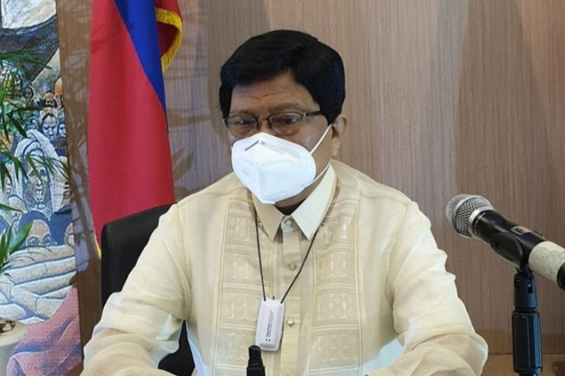 CEBU. Cebu City Mayor Edgardo Labella in one of his press conferences. (File photo)