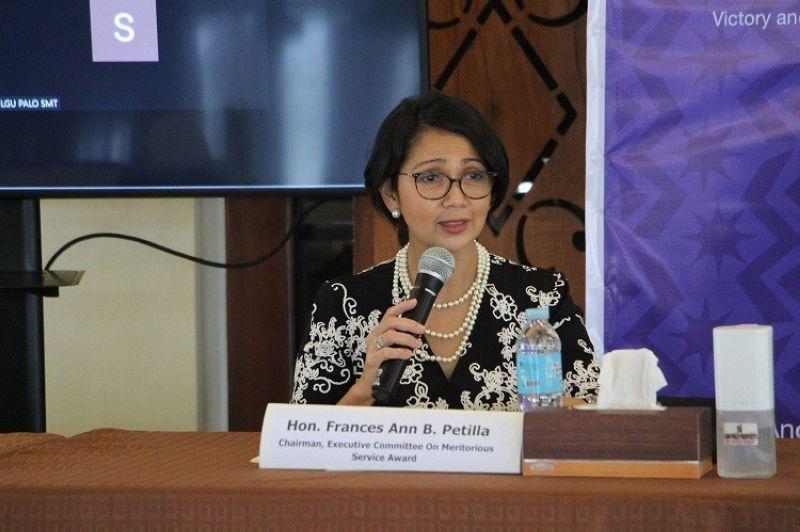 LEYTE. Palo Mayor Frances Ann Petilla. (Photo from LGU-Palo)