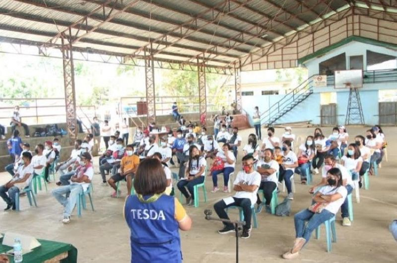 SAN CARLOS. The Poverty Reduction, Livelihood Employment Cluster of Negros Occidental and the City Government of San Carlos launch the Barangay Development Project seen to benefit residents of three barangays in the locality recently. (Contributed photo)