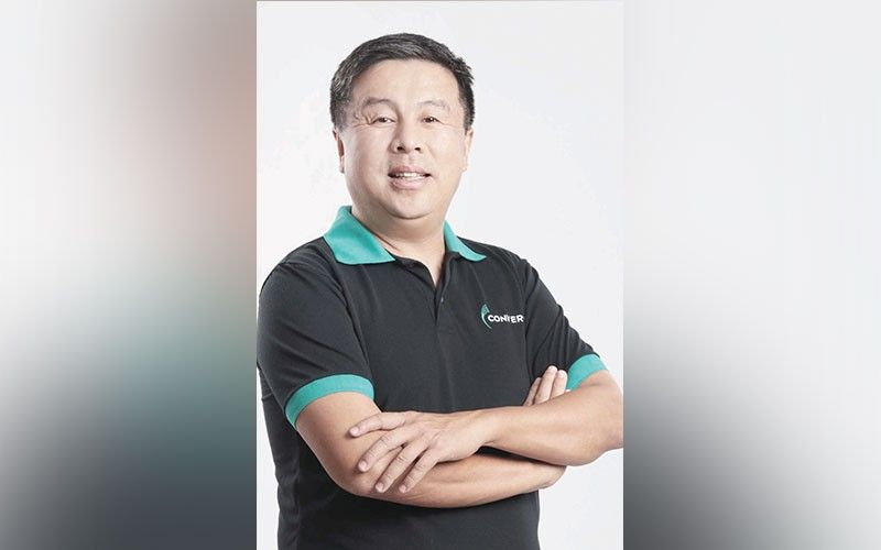 TAKEUP. Dennis Uy, president and co-founder of Converge ICT Solutions Inc., says Cebu's expansion has earned them thousands of new subscribers per month, reflecting a strong demand for fast and reliable internet connection in the island. CONVERGE