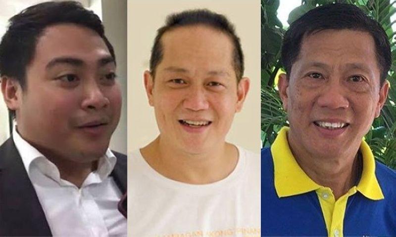 CEBU. DPS chief Atty. John Jigo Dacua (left) and Cebu City Councilors Franklyn Ong and Nestor Archival. (SunStar File/Contributed)
