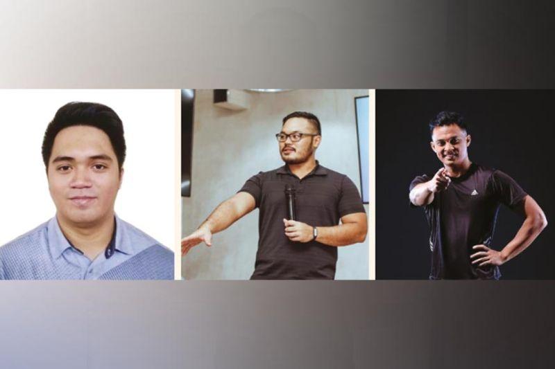 COACHES. From left: Luis de Mesa, Sot Sotelo and Paulo Agir.