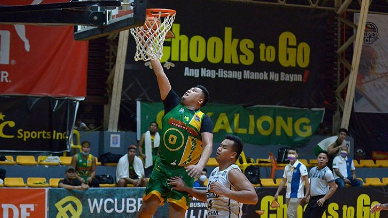 Veteran forward Jay Collado was initially brought in to be Basilan's big brother but ended up winning the Finals MVP plum. (Chooks-to-Go Pilipinas)