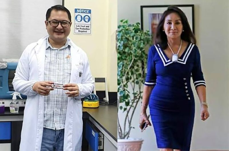Cebu Governor Gwendolyn Garcia and Dr. Edsel Maurice Salvana. (Contributed)