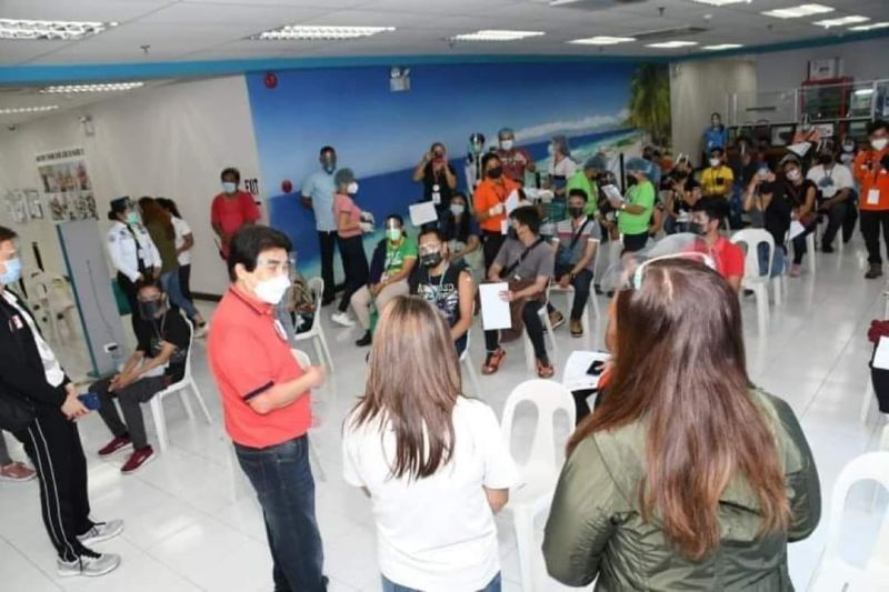 NEGROS. Bacolod City's graveyard shift vaccination drive will start this week and the onsite vaccination of the various call center employees and personnel will run from 8 p.m to 4 a.m. (Contributed photo)