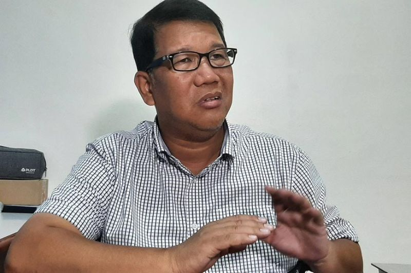 MAYORAL RACE. Lawyer Dennis C. Pangan declares his intention to run as mayor in the Municipality of Sta. Ana in the May 2022 polls.