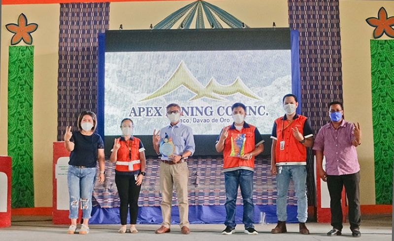 APX with Mayor Alvera Veronica R. Rimando and Sangguniang Bayan Member Joel Penido