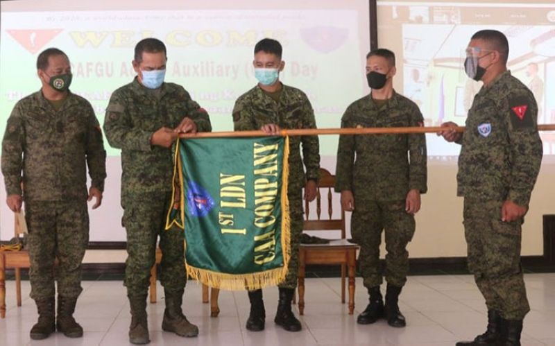 ZAMBOANGA. The Army's 1st Infantry Division (ID) spearheads the celebration of the 34th Cafgu Active Auxiliary Day on Wednesday, August 18. A photo handout shows Major General Generoso Ponio, 1ID commander (second from left), leads the ceremony as the celebration was highlighted with the awarding of Best CAA per Infantry Battalion, Mechanized Brigade, and Joint Task Force administratively and operationally controlled by the command. (SunStar Zamboanga)