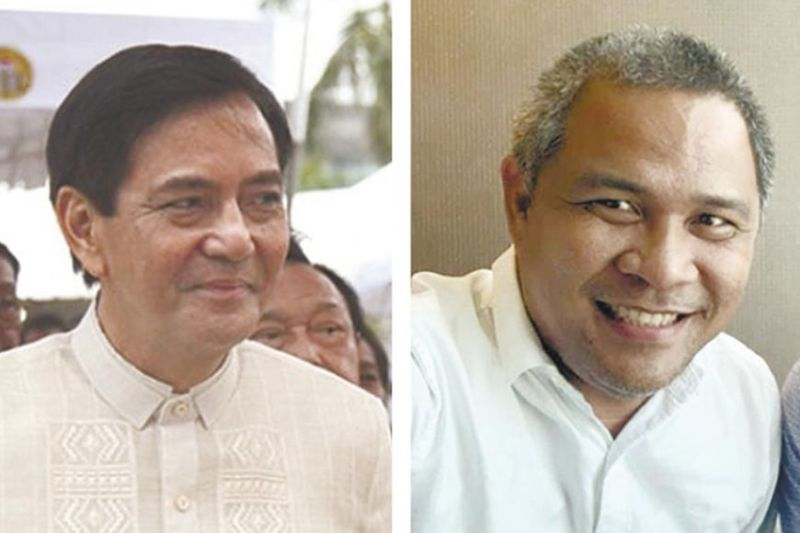 AT ODDS OVER GARBAGE. City Administrator Floro Casas Jr. (right) says it's better to have an independent agency look into the garbage controversy. Vice Mayor Michael Rama (left) had brought up the matter during the council session on Aug. 19, 2021, which prompted the council to pass a resolution asking the ombudsman and the National Bureau of Investigation 7 to probe the matter. (SunStar file)