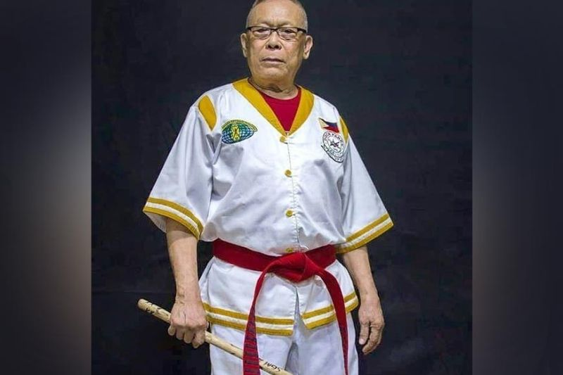 """ARNIS LEGEND. Dose Pares Supreme Grandmaster and lawyer Dionisio """"Diony"""" Canete has passed away at the age of 83 due to Covid-19. Canete is credited of promoting Arnis not just in the country but throughout the world./ SGM Diony Canete's FB page"""