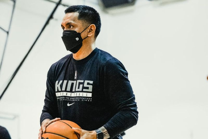 Filipino basketball legend Jimmy Alapag has been named an assistant coach of the Stockton Kings. / Sacramento Kings