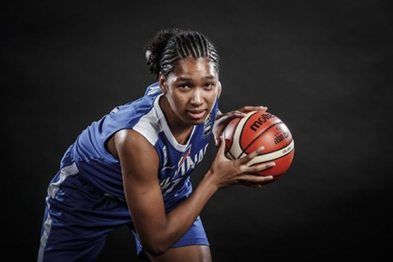 Filipina basketball player Jack Animam is hoping that her upcoming stint in Europe would help pave the way for her to make it to the WNBA. / FIBA Filipina basketball player Jack Animam is hoping that her upcoming stint in Europe would help pave the way for her to make it to the WNBA. / FIBA
