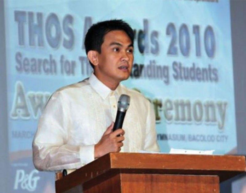 BACOLOD. Bacolod City Councilor Wilson Gamboa Jr. (File photo)