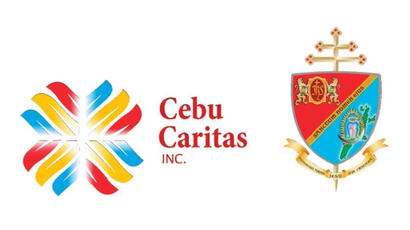 NEW LOOK. The Cebu Caritas Inc. (CCI) unveils its new logo on Sept. 1, 2021 that is inspired by the colors of the Sinulog festival. It also relaunched its official Facebook page and debuted its Instagram and Twitter accounts. / CCI