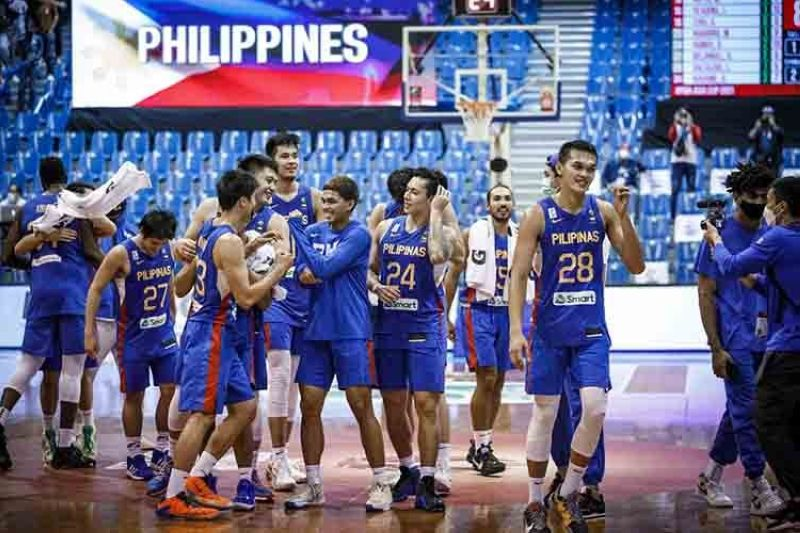 Gilas Pilipinas drawn with South Korea, New Zealand, India in 2023 FIBA World Cup Qualifiers (FIBA)