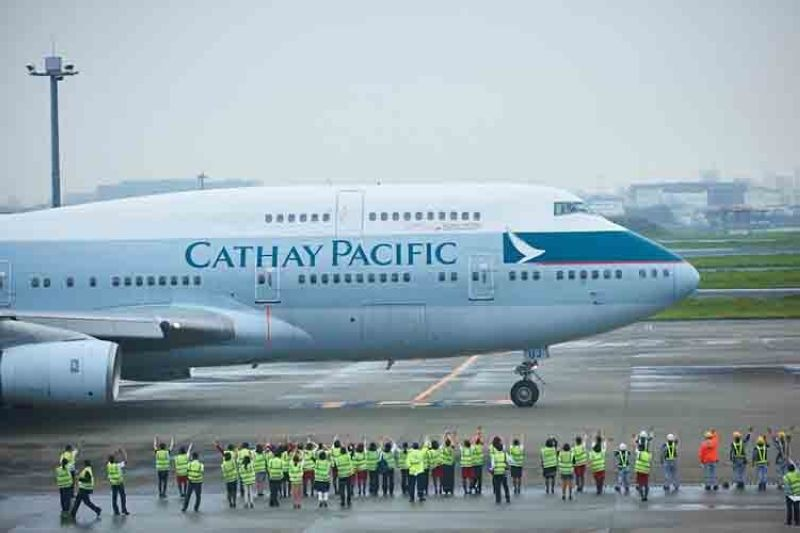 (From: Cathay Pacific's Facebook)